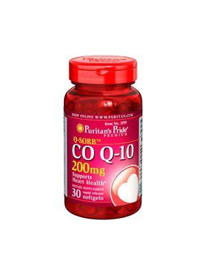 Puritan's Pride Coenzym Q10 200 mg 30 Softgels 2091