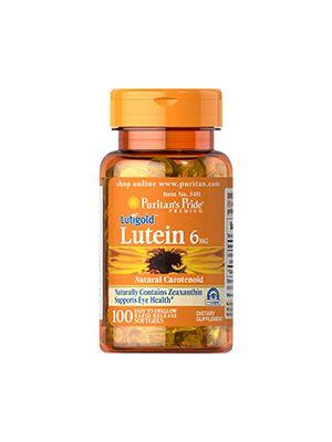 Puritan's Pride Lutein 6 mg 100 Softgels 3481