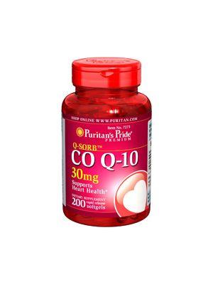 Puritan's Pride Coenzym Q10 30 mg 200 Softgels 7273