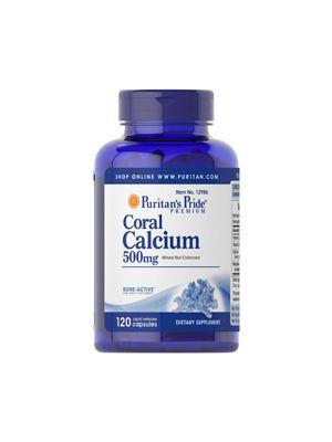 Puritan's Pride Coral Calcium 500 mg plus vitamin & magnesium 120 Kapseln 12986