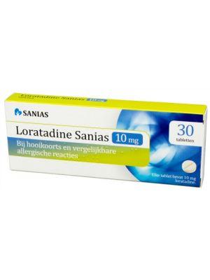 Sanias Loratadine bei Allergie 30 Tabletten