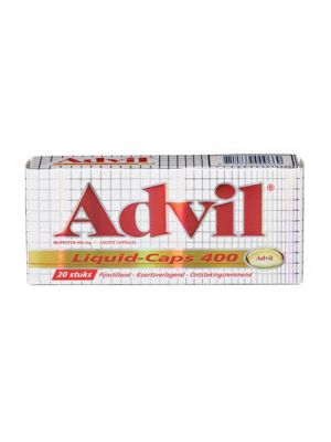Advil 400 mg Spalt Mobil Liquid 20 Liquid-Caps