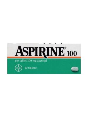 Aspirine 100 mg  (Ass 100) 20 Tabletten Bayer