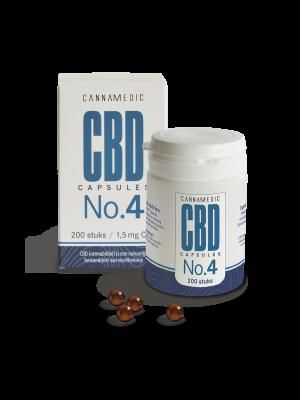 CBD 1,5 mg 100 Kapseln No. 4 Cannamedic
