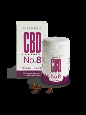 CBD 3 mg 100 Kapseln No. 8 Cannamedic