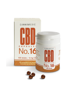 CBD 6 mg 50 Kapseln No. 16 Cannamedic