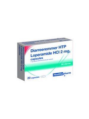 Healthypharm Durchfall Inhibitor 2 mg 10 Kapseln