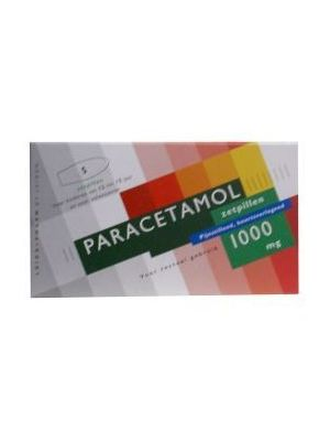 Paracetamol 1000 mg 5 Zäpfchen Leidapharm