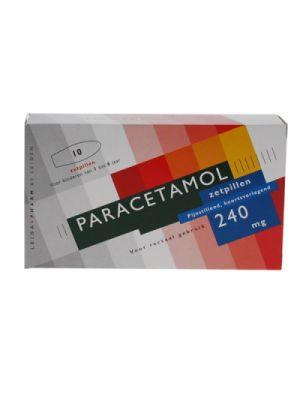 Paracetamol 240 mg 10 Zäpfchen Leidapharm