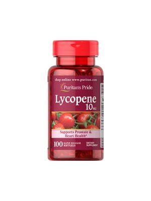 Puritan's Pride Lycopene 10 mg 100 softgels 2111
