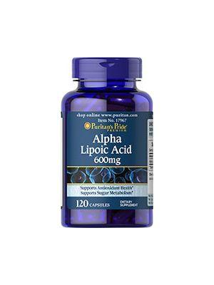 Puritan's Pride Alpha-Liponsäure 600 mg 120 Kapseln 17967
