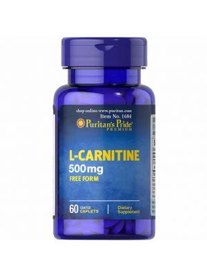 Puritan's Pride L-carnitine 500 mg 60 Tabletten 1684