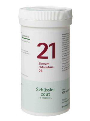 Schüssler salze Pflüger nr 21 zincum chloratum D6 400 Tablet glutenfrei