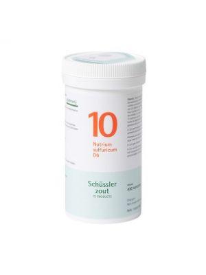 Schüssler salze Pflüger nr 10 Natrium Sulfuricum D6 400 Tablet glutenfrei