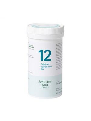 Schüssler salze Pflüger nr 12 Calcium Sulfuricum D6 400 Tablet glutenfrei
