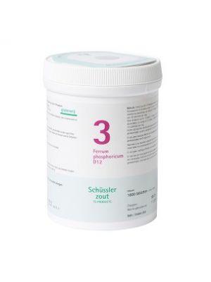 Schüssler salze Pflüger nr 3 Ferrum Phosphoricum D12 1000 Tablet glutenfrei