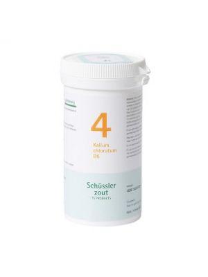 Schüssler salze Pflüger nr 4 Kalium Chloratum D6 400 Tablet glutenfrei