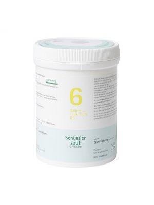Schüssler salze Pflüger nr 6 Kalium Sulfuricum D6 1000 Tablet glutenfrei