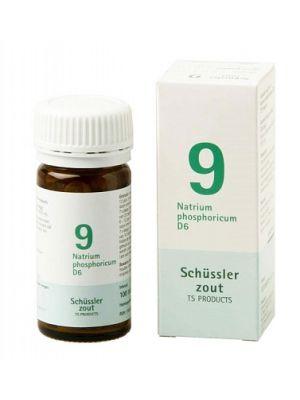 Schüssler salze Pflüger nr 9 Natrium Phosphoricum D6 100 Tablet glutenfrei