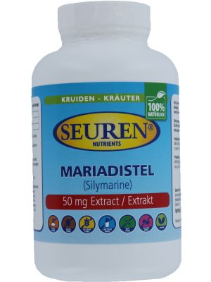 Seuren Nutrients Mariendistel 600 mg 200 Kapseln