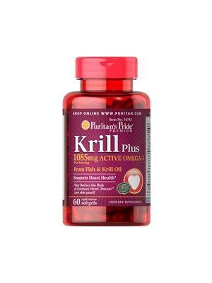 Puritan's Pride Krill plus 1085 mg active omega 3 60 Kapseln 34783