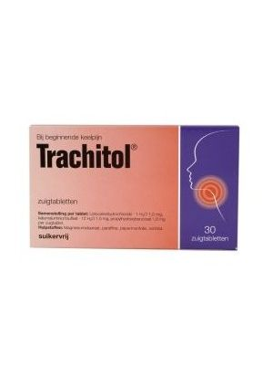 Trachitol zuckerfrei 30 tabletten