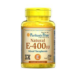 Puritan's Pride Vitamin E-400 iu Mixed Tocopherols Natural 250 Softgels 463
