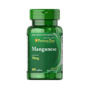 Puritan's Pride Manganese 50 mg 100 Tabletten 1090