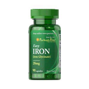 Puritan's Pride Easy iron 28 mg 90 Kapseln 1603