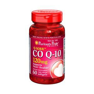 Puritan's Pride Coenzym Q10 120 mg 60 Softgels 1851