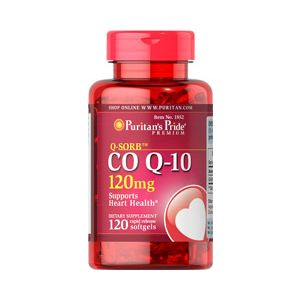 Puritan's Pride Coenzym Q10 120 mg 120 Softgels 1852