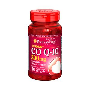 Puritan's Pride Coenzym Q10 200 mg 30 Softgels 2091