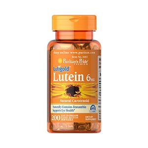 Puritan's Pride Lutein 6 mg 200 Softgels 3483