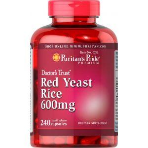 Puritan's Pride Red Yeast Rice 600 mg 240 Kapseln 6213