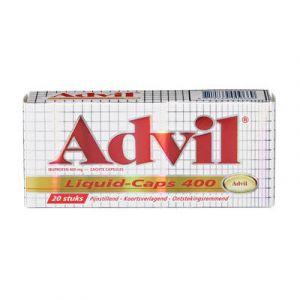 Advil 400 mg Spalt Mobil Liquid 20 Liquid-Caps