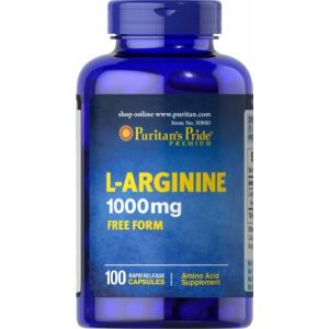 Puritan's Pride L Arginine 1000 mg 100 Kapseln 50880
