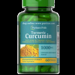 Puritan Pride Kurkuma Curcumine mit Bioperine 1000 mg 60 Kapseln 78826