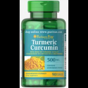 Puritan's Pride Turmeric Curcumin 500 mg 90 Kapseln 15418