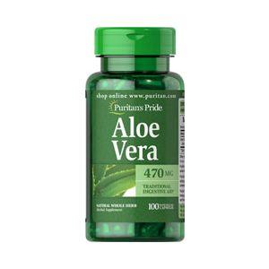 Puritan's Pride Aloe vera 470 mg 100 Kapseln 5101