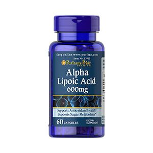 Puritan's Pride Alpha Liponsäure 600 mg 60 Kapseln 17965