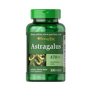 Puritan's Pride Astragalus 470 mg 100 Kapseln 3571