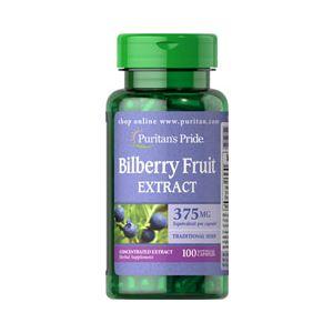 Puritan's Pride Bilberry 375 mg 100 Kapseln 3451