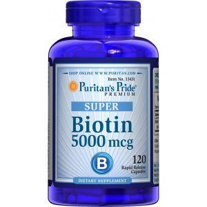Puritan's Pride Biotin 5000 mg 120 Kapseln 13431