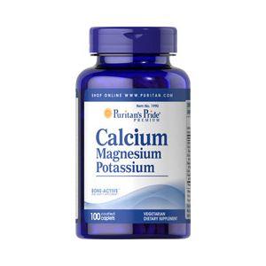 Puritan's Pride Calcium Magnesium Potassium 100 Tabletten 1990