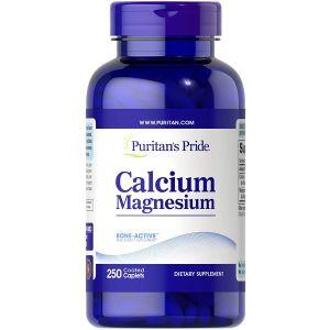 Puritan's Pride Chelated Calcium Magnesium 250 Coated Kapseln 4083
