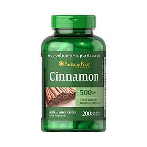 Puritan's Pride Cinnamon 500 mg 200 Kapseln 14022