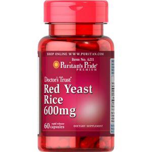 Puritan's Pride Red Yeast Rice 600 mg 60 Kapseln 6211