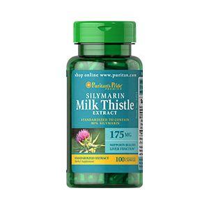 Puritan's Pride Silymarin Milk Thistle 175 mg 100 Kapseln 3491