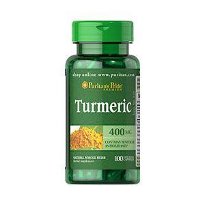 Puritan's Pride Turmeric 400 mg 100 Kapseln 525