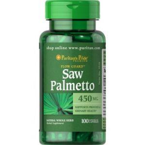 Puritan's Pride Saw Palmetto 450 mg 100 Kapseln 3531